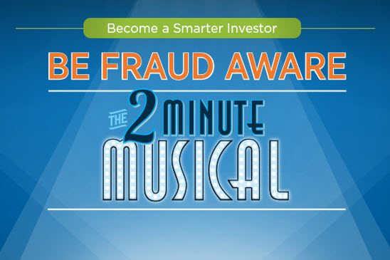 "The BC Securities Commission releases ""Be Fraud Aware: The Two Minute Musical"""