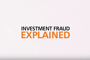 Investment Fraud Explained [video]