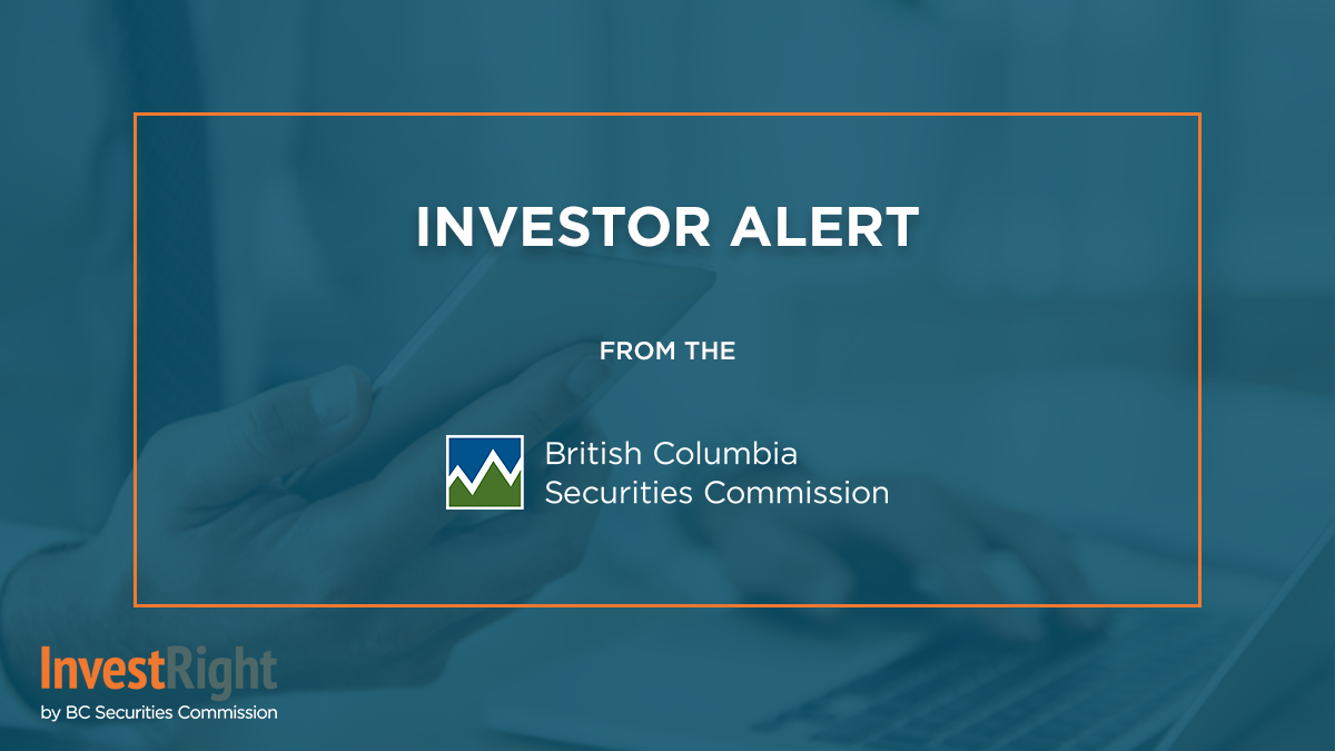 Investor Alert: Canadian Securities regulators warn public about entity claiming to regulate derivatives